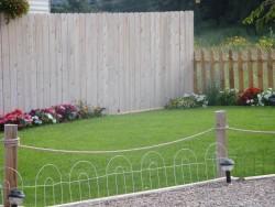 RV Campground fencing